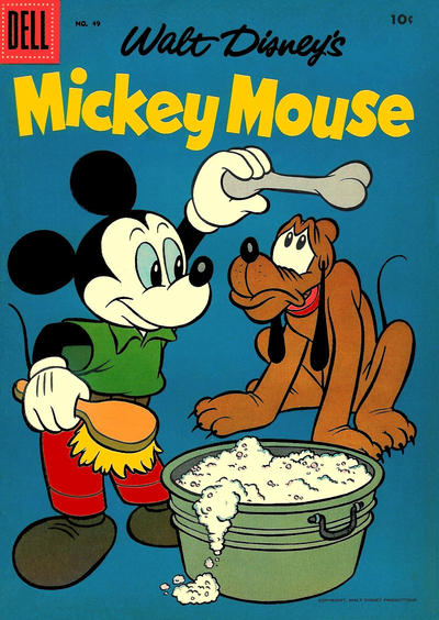 Cover for Mickey Mouse (Dell, 1952 series) #49