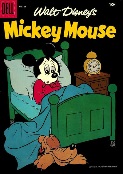 Cover for Mickey Mouse (Dell, 1952 series) #51