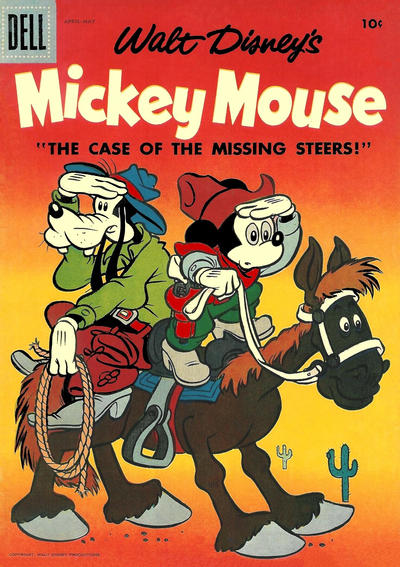 Cover for Mickey Mouse (Dell, 1952 series) #53