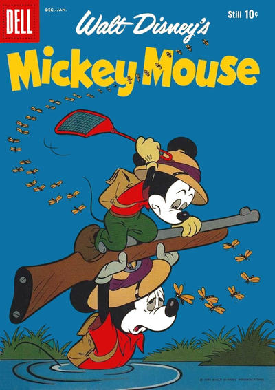 Cover for Mickey Mouse (Dell, 1952 series) #63
