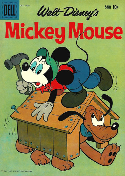 Cover for Mickey Mouse (Dell, 1952 series) #68