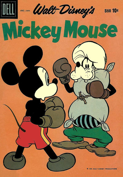 Cover for Mickey Mouse (Dell, 1952 series) #69