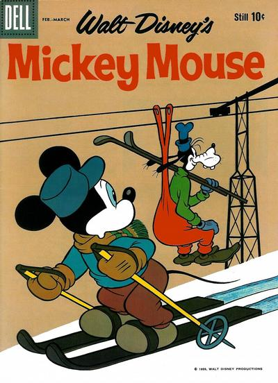 Cover for Mickey Mouse (Dell, 1952 series) #70