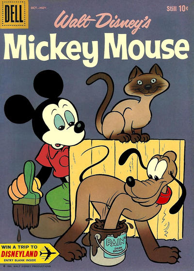 Cover for Mickey Mouse (Dell, 1952 series) #74