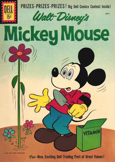 Cover for Mickey Mouse (Dell, 1952 series) #78
