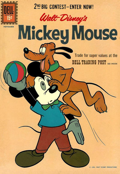 Cover for Mickey Mouse (Dell, 1952 series) #80