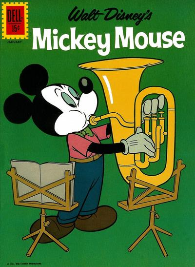 Cover for Mickey Mouse (Dell, 1952 series) #81