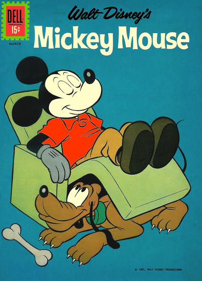 Cover for Mickey Mouse (Dell, 1952 series) #82