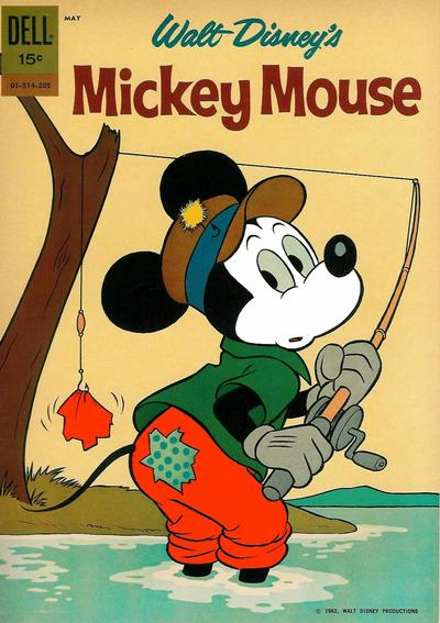 Cover for Mickey Mouse (Dell, 1952 series) #83