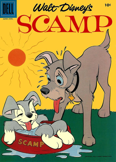 Cover for Scamp (Dell, 1958 series) #6