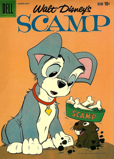 Cover for Walt Disney's Scamp (Dell, 1958 series) #13
