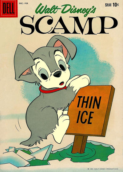 Cover for Walt Disney's Scamp (Dell, 1958 series) #16
