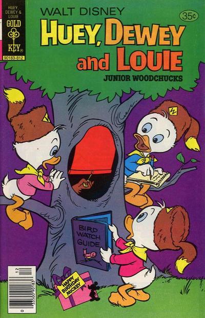 Cover for Walt Disney Huey, Dewey and Louie Junior Woodchucks (Western, 1966 series) #53 [Whitman Edition]