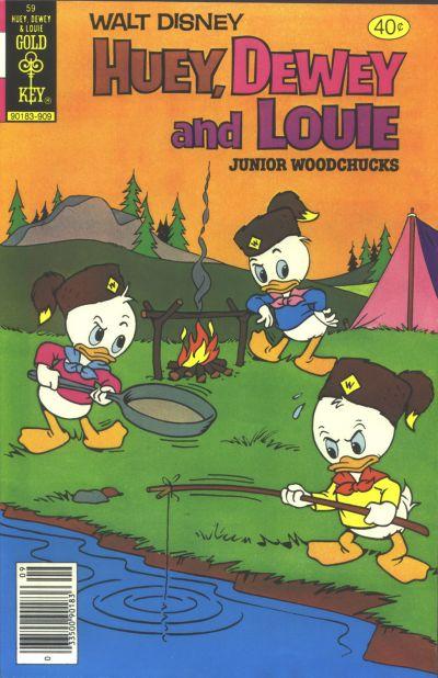 Cover for Walt Disney Huey, Dewey and Louie Junior Woodchucks (Western, 1966 series) #59