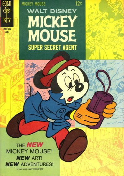 Cover for Mickey Mouse (Western, 1962 series) #107