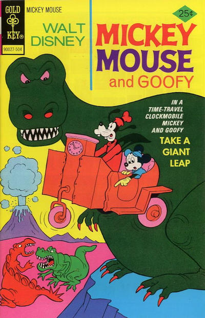 Cover for Mickey Mouse (Western, 1962 series) #155
