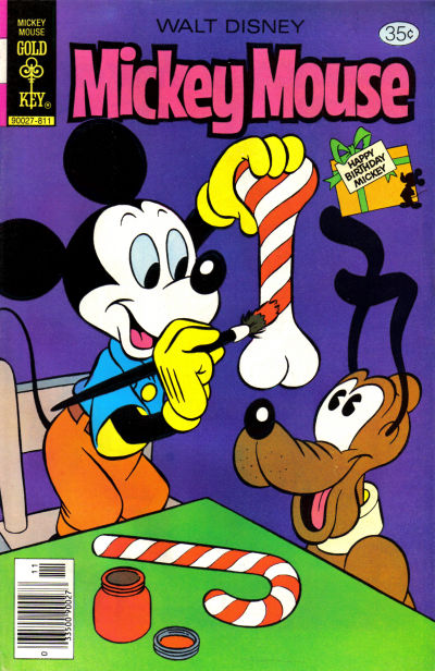 Cover for Mickey Mouse (Western, 1962 series) #189 [Gold Key]
