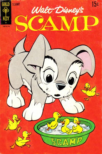 Cover for Walt Disney Scamp (Western, 1967 series) #6