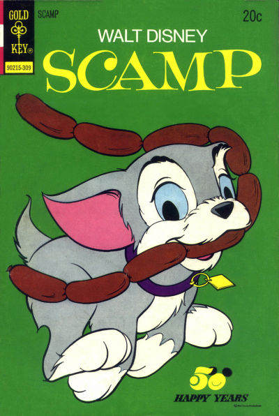 Cover for Walt Disney Scamp (Western, 1967 series) #13 [Gold Key Variant]
