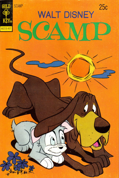 Cover for Walt Disney Scamp (Western, 1967 series) #18