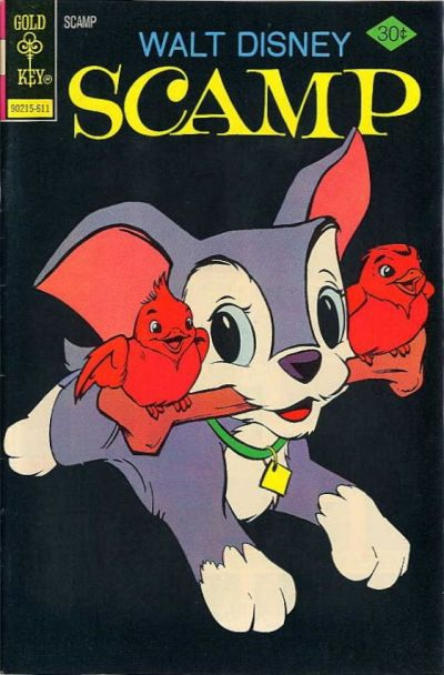 Cover for Walt Disney Scamp (Western, 1967 series) #32 [Gold Key]