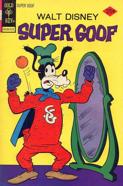 Cover for Walt Disney Super Goof (Western, 1965 series) #36 [Gold Key]