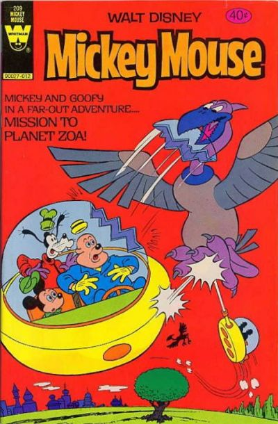 Cover for Mickey Mouse (Western, 1962 series) #209