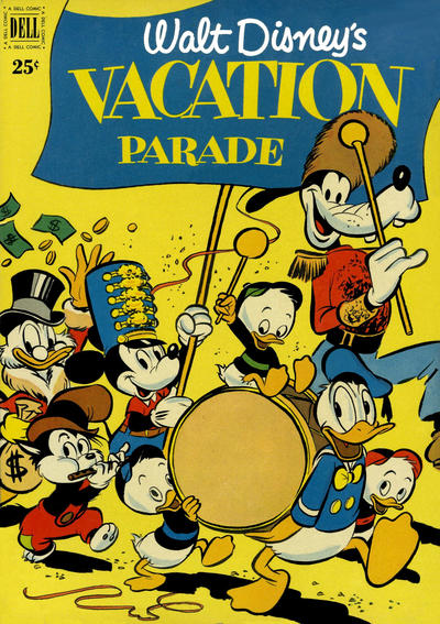 Cover for Walt Disney's Vacation Parade (Dell, 1950 series) #2