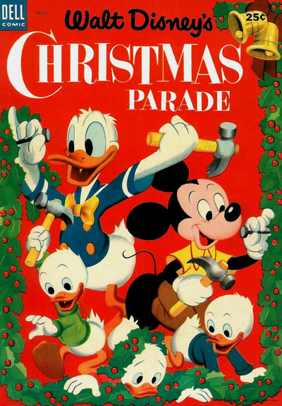 Cover for Walt Disney's Christmas Parade (Dell, 1949 series) #5