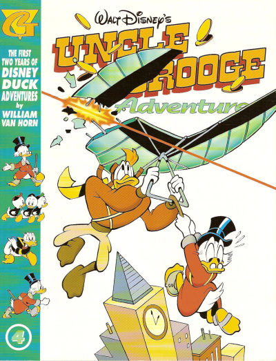 Cover for Walt Disney's Uncle Scrooge Adventures in Color (Gladstone, 1998 series) #4
