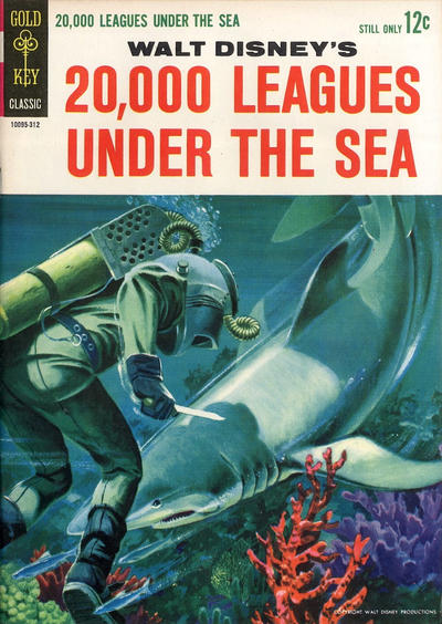 Cover for Walt Disney's 20,000 Leagues Under the Sea (Western, 1963 series) #[nn]