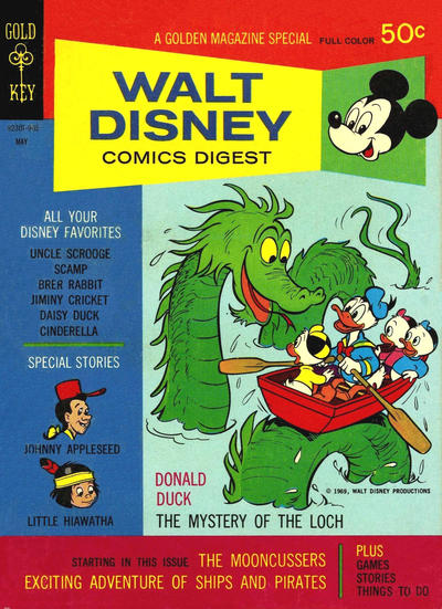 Cover for Walt Disney Comics Digest (Western, 1968 series) #11