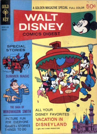 Cover for Walt Disney Comics Digest (Western, 1968 series) #14