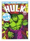 Cover for Hulk Comic (Marvel UK, 1979 series) #1