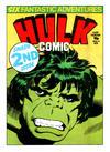 Cover for Hulk Comic (Marvel UK, 1979 series) #2