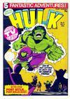 Cover for Hulk Comic (Marvel UK, 1979 series) #41