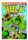 Cover for Hulk Comic (Marvel UK, 1979 series) #43