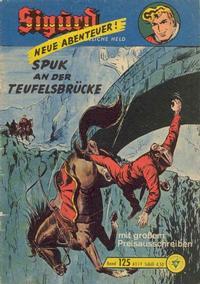 Cover Thumbnail for Sigurd (Lehning, 1958 series) #125