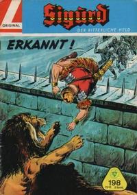 Cover Thumbnail for Sigurd (Lehning, 1958 series) #198