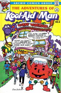 Cover Thumbnail for The Adventures of Kool-Aid Man (Archie, 1987 series) #6