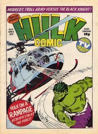 Cover Thumbnail for Hulk Comic (Marvel UK, 1979 series) #14