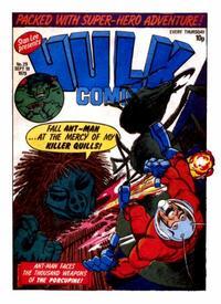 Cover Thumbnail for Hulk Comic (Marvel UK, 1979 series) #29