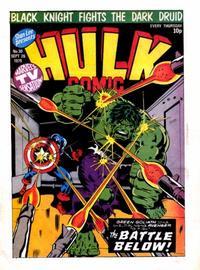 Cover Thumbnail for Hulk Comic (Marvel UK, 1979 series) #30