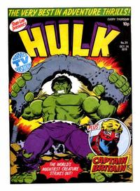 Cover Thumbnail for Hulk Comic (Marvel UK, 1979 series) #34