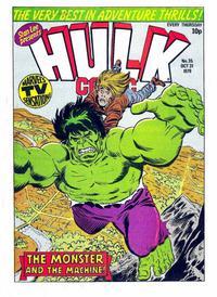 Cover Thumbnail for Hulk Comic (Marvel UK, 1979 series) #35