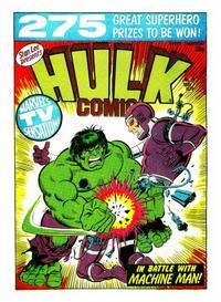Cover Thumbnail for Hulk Comic (Marvel UK, 1979 series) #36