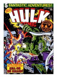 Cover Thumbnail for Hulk Comic (Marvel UK, 1979 series) #38