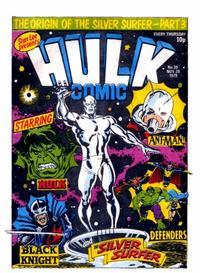 Cover Thumbnail for Hulk Comic (Marvel UK, 1979 series) #39