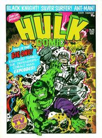 Cover Thumbnail for Hulk Comic (Marvel UK, 1979 series) #40