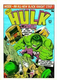 Cover Thumbnail for Hulk Comic (Marvel UK, 1979 series) #43